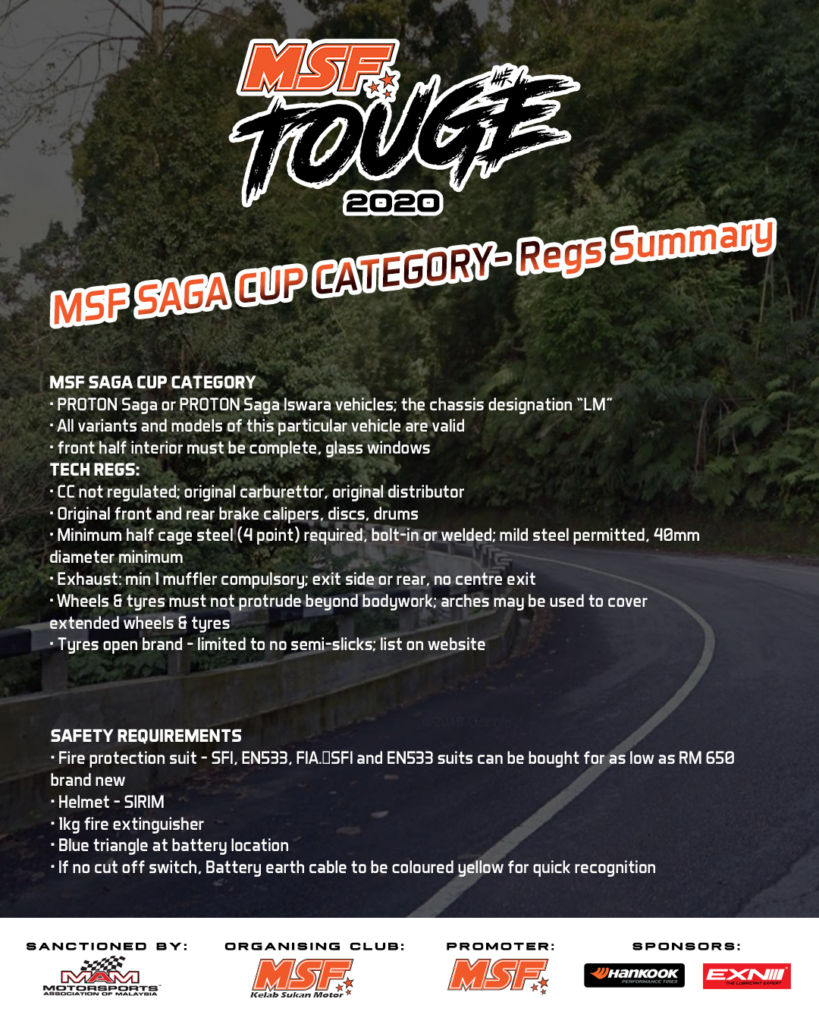 """Saga Cup"" Regulations"